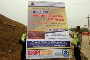 Jasa Raharja Kalbar Pasang 105 Baliho Imbauan