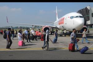Belasan Pesawat Besar Angkut Pemudik ke Padang