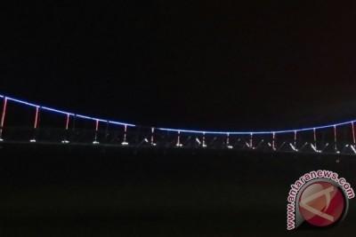 Bupati Sekadau Pertanyakan Lampu Jembatan Penanjung