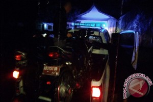 Tabrakan Maut di Jalan Bhayangkara Sukadana