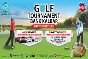 Bank Kalbar Gelar Open Tournament Golf 2017