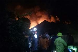 Polisi Selidiki Penyebab Kebakaran 26 Rumah Di Pontianak