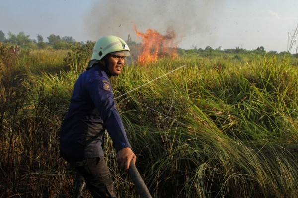 Mempawah facing situation of emergency against haze of smoke