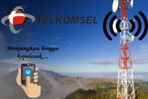 Telkomsel Bangun 63 BTS Merah-Putih Daerah Pelosok