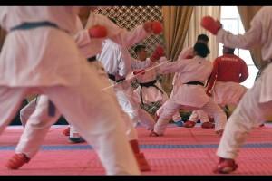 500 Anak Bengkayang Ikut Latihan Karate