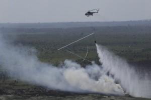 BNPB: Terpantau 150 Titik Api di Kalbar