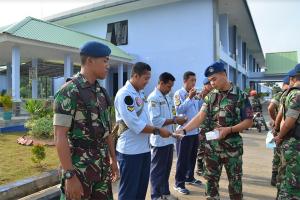 Lanud Supadio Dukung BNPB Cegah Karhutla