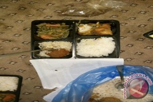 JCH Kloter 14 Pontianak Keluhkan Kualitas Makanan