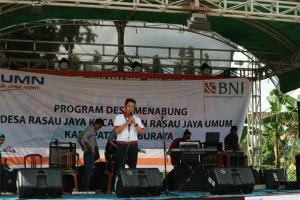 BNI Luncurkan Desa Menabung Di Rasau Jaya