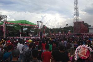 Sekda Tutup Festival Di Perbatasan Indonesia - Malaysia