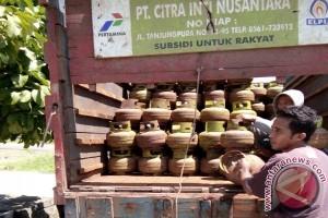 Stok Elpiji Tiga Kilogram Menipis di Sukadana