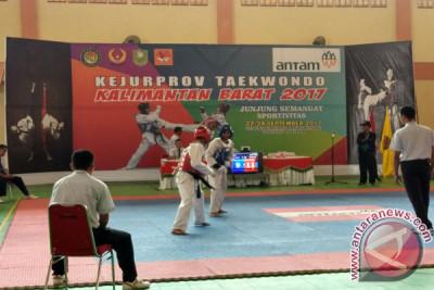 ANTAM Dukung Kejurprov Taekwondo se-Kalbar