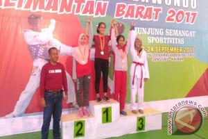 PBTI Sanggau - Antam Sukses Gelar Kejurprov Taekwondo se-Kalbar