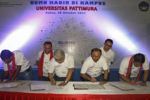 Semen Indonesia Hadir di Kampus Universitas Pattimura Ambon