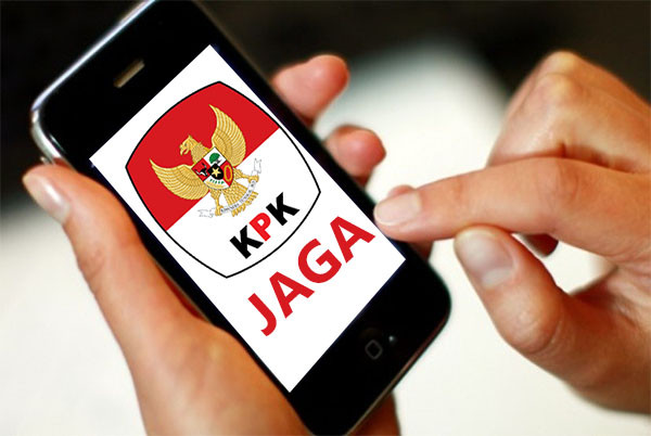 """KPK Sosialisasi Aplikasi """"JAGA"""" di Kalbar"""