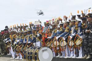 Kirab Kota Taruna AAL di Padang