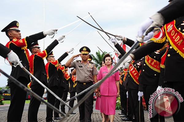 Parade Pelepasan Kapolda Kalbar