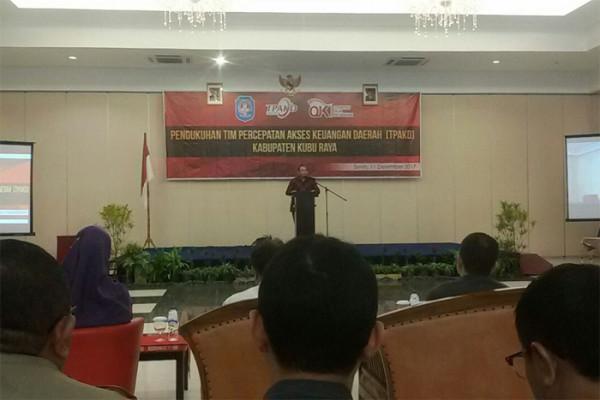 OJK Kukuhkan TPKAD Kabupaten Kubu Raya