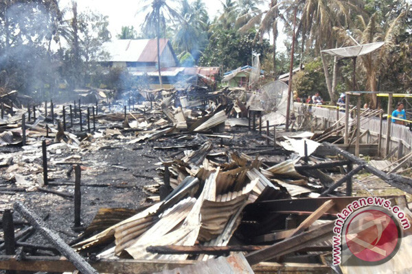 Pasca Kebakaran Rumah Betang Ulu Banua