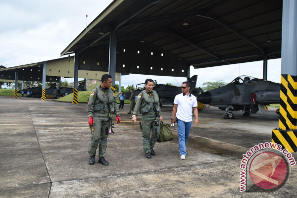Skadron Udara Lanud Supadio Ikuti Simulasi Perang