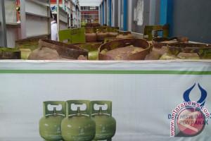Harga elpiji subsidi di perbatasan capai Rp50 ribu/tabung