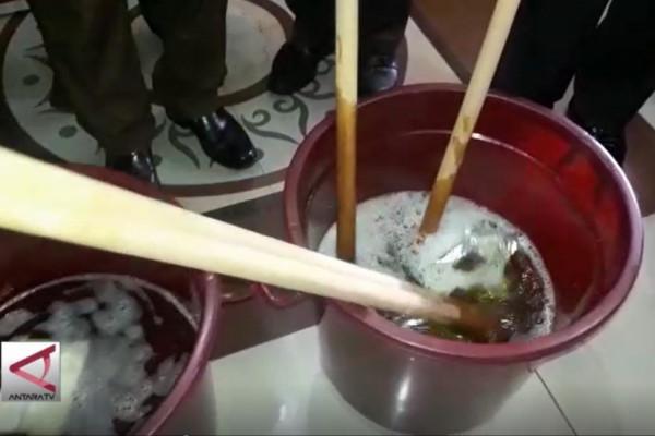Polisi musnahkan 3 kg sabu-sabu