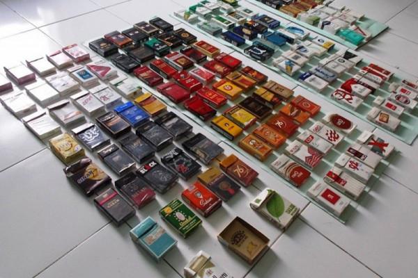 Polisi temukan 16 paket sabu dalam kotak rokok