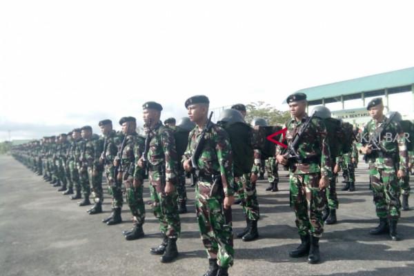 Pelepasan 450 prajurit Batalyon Raider