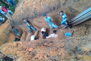Keluarga korban kecelakaan ikhlas pemakaman di Sampit