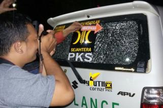 Polisi amankan pelaku penembakan kaca mobil ambulan