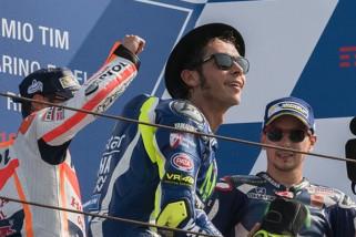 Valentino Rossi rayakan ulang tahunnya di Thailand
