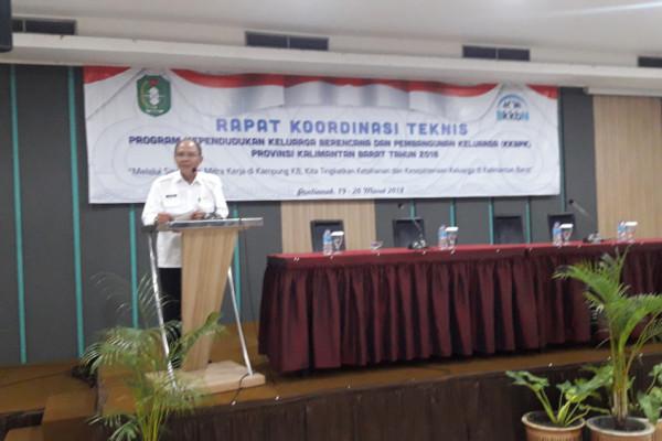 BKKBN Kalbar mantapkan program