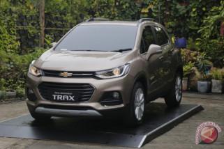 Chevrolet Trax  varian baru berwarna tembaga