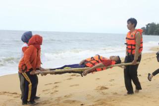 PMI dan relawan latihan gabungan kesiapsiagaan bencana