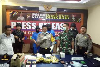 Polsek Entikong ungkap penyelundupan tiga kilogram sabu-sabu