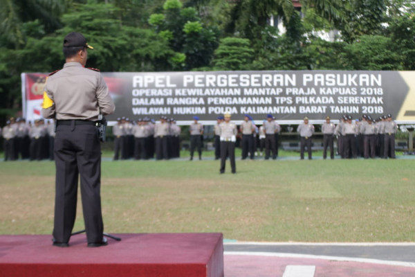 Polres Singkawang segera geser personil ke TPS