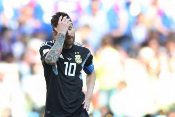 Penampilan Messi buruk karena taktik yang tidak tepat