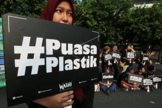 Warga Rwanda tantang polusi plastik