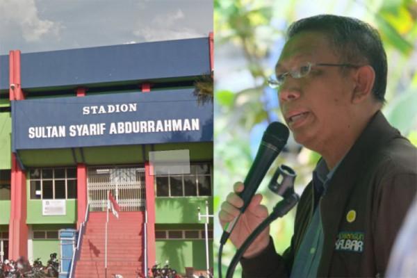 Sutarmidji akan benahi Stadion Sultan Syarif Abdurrahman