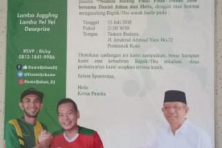 Anggota DPR gelar nobar final Piala Dunia