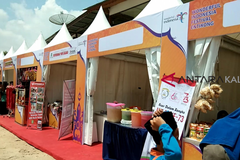 Gelar Wonderful Indonesia Festival Entikong
