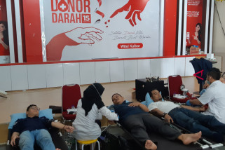 Telkom Witel Kalbar sukses gelar donor darah