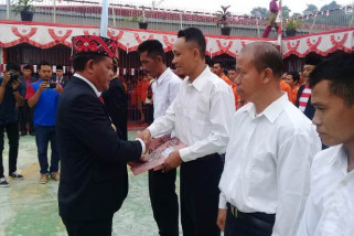 166 warga binaan Rutan Sanggau terima remisi