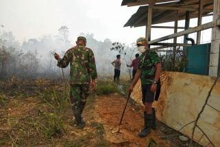 RS perbatasan Indonesia-Malaysia nyaris terkena karhutla