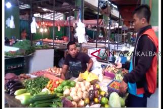 Harga pangan masyarakat di Pontianak normal