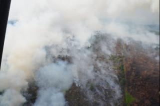 Pantau titik api antisipasi kebakaran hutan dan lahan.
