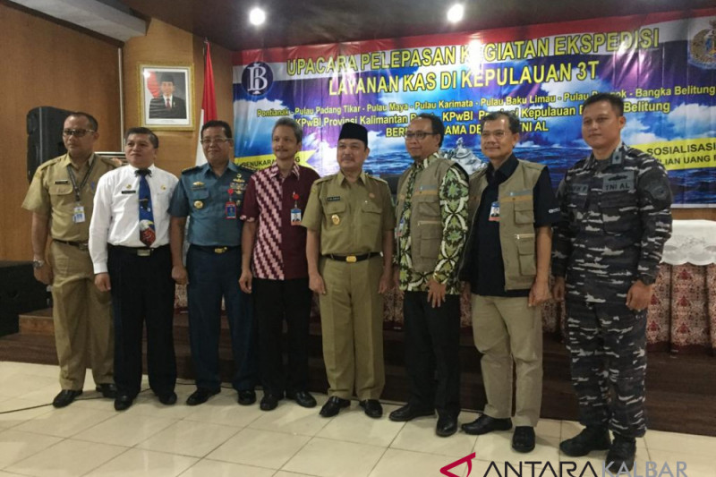 Bank Indonesia expedition team combs 3T islands