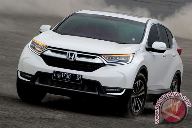 All New Honda CR-V Turbo tempuh 1.400 km Aceh - Padang