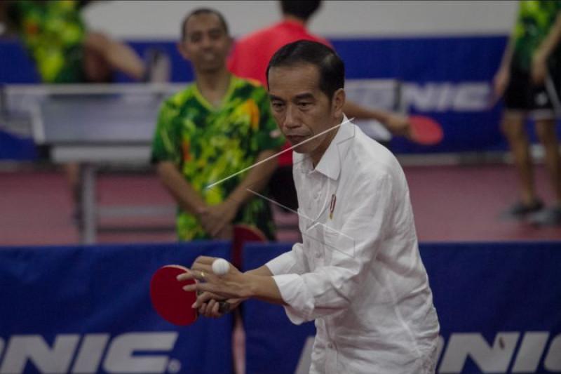Memotivasi atlet peserta Asian Paragames 2018