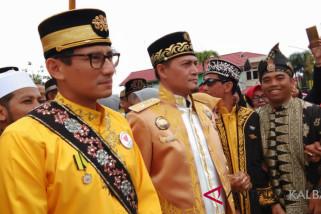 Sandiaga bersilaturahim ke Sultan Pontianak
